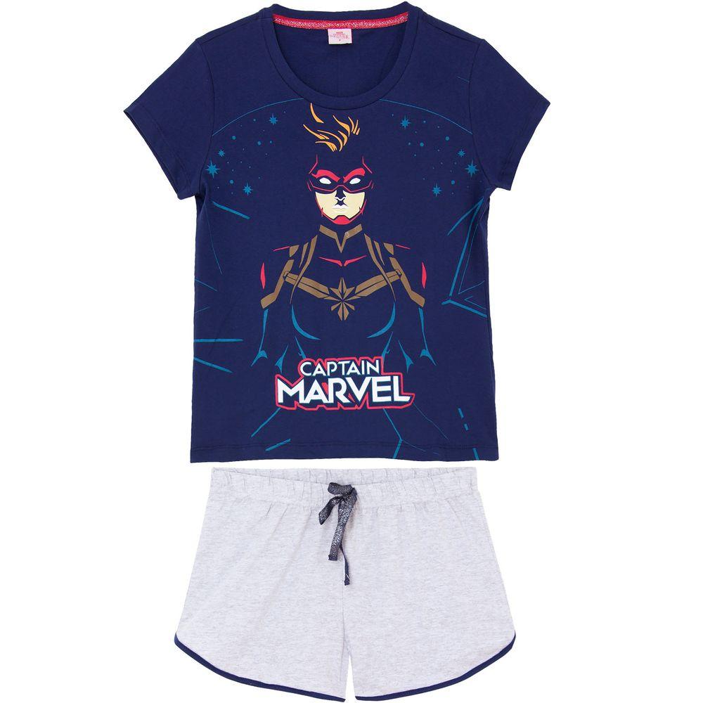 Pijama-Feminino-Turma-da-Monica-Algodao-Magali