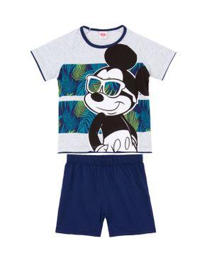 Pijama-Infantil-Masculino-Disney-Algodao-Mickey-Tropical