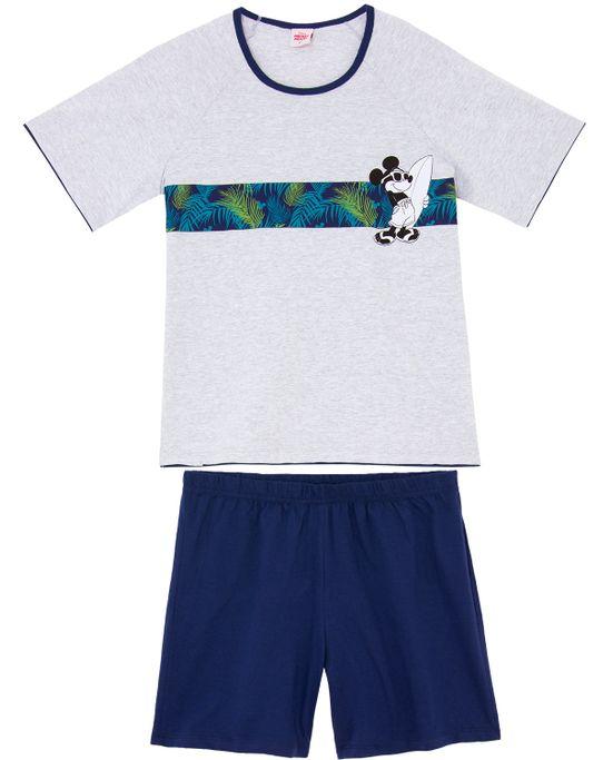Pijama-Masculino-Disney-Algodao-Mickey-Tropical