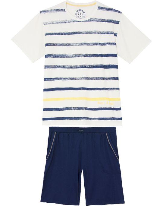 Pijama-Curto-Masculino-Any-Any-Viscolycra-Listras