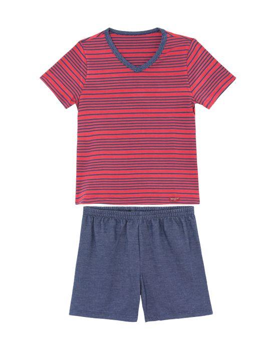 Pijama-Infantil-Masculino-Recco-Viscoflex-Listras