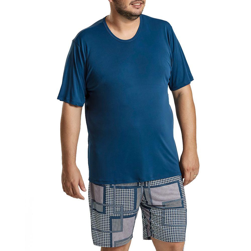 Pijama-Plus-Size-Masculino-Recco-Microfibra-Grafico