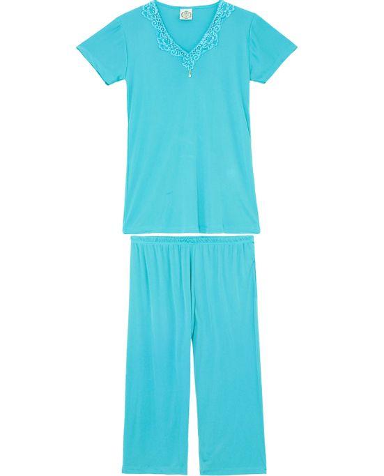 Pijama-Capri-Toque-Manga-Curta-Microfibra-Renda