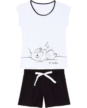 Pijama-Curto-Feminino-Kalm-100--Algodao-Gato-Iti-Malia
