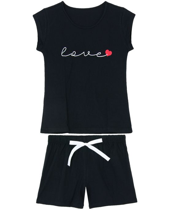 Pijama-Curto-Feminino-Kalm-100--Algodao-Love