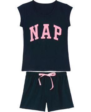 Pijama-Curto-Feminino-Kalm-100--Algodao-NAP