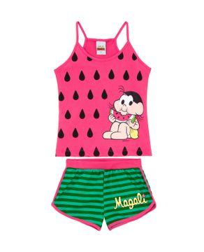 Pijama-Infantil-Turma-da-Monica-Alca-Magali-Melancia