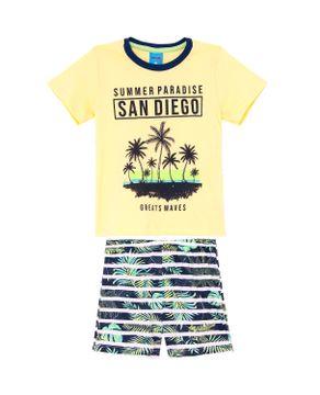 Pijama-Infantil-Masculino-Borth-Boys-Algodao-Tropical