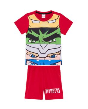 Pijama-Infantil-Masculino-Marvel-Algodao-Herois