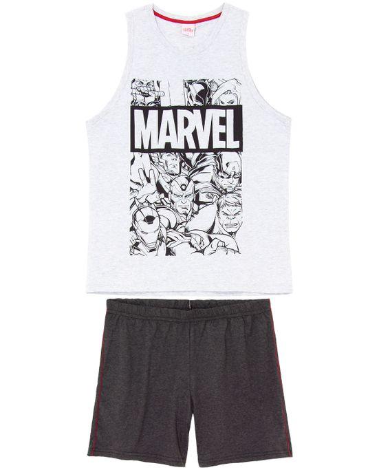 Pijama-Masculino-Marvel-Regata-100--Algodao-Herois