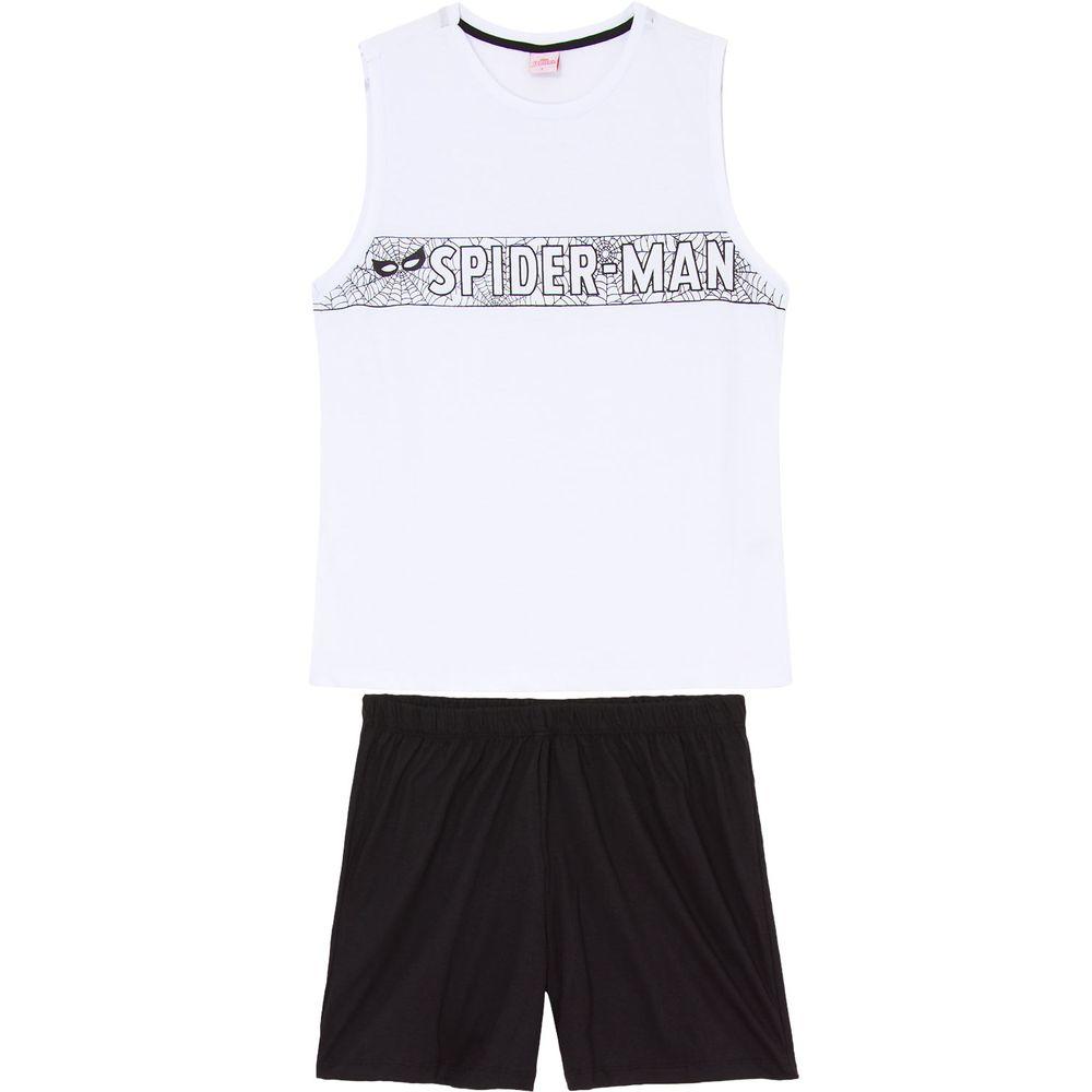 Pijama-Regata-Masculino-Marvel-Homem-Aranha