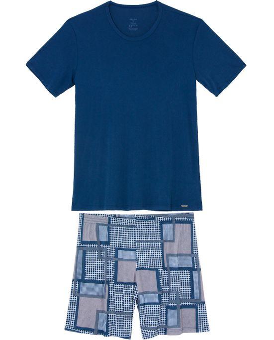 Pijama-Curto-Masculino-Recco-Microfibra-Amni-Grafico