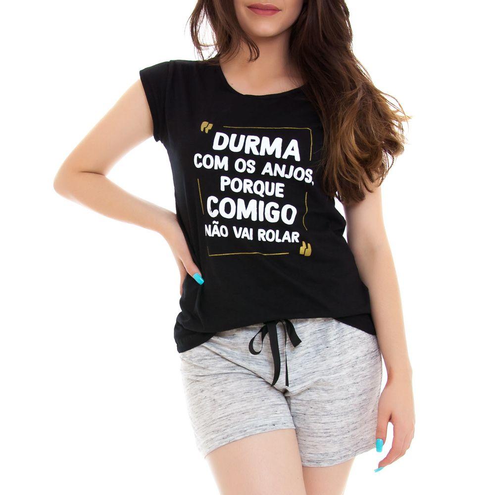 Pijama-Curto-Feminino-Kalm-Algodao-Durma-com-Anjos