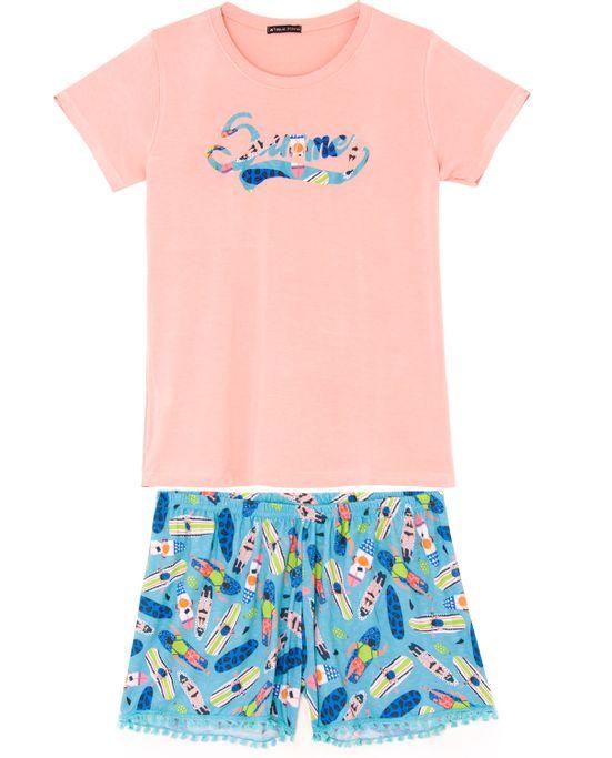 Pijama-Curto-Feminino-Toque-Viscolycra-Pranchas