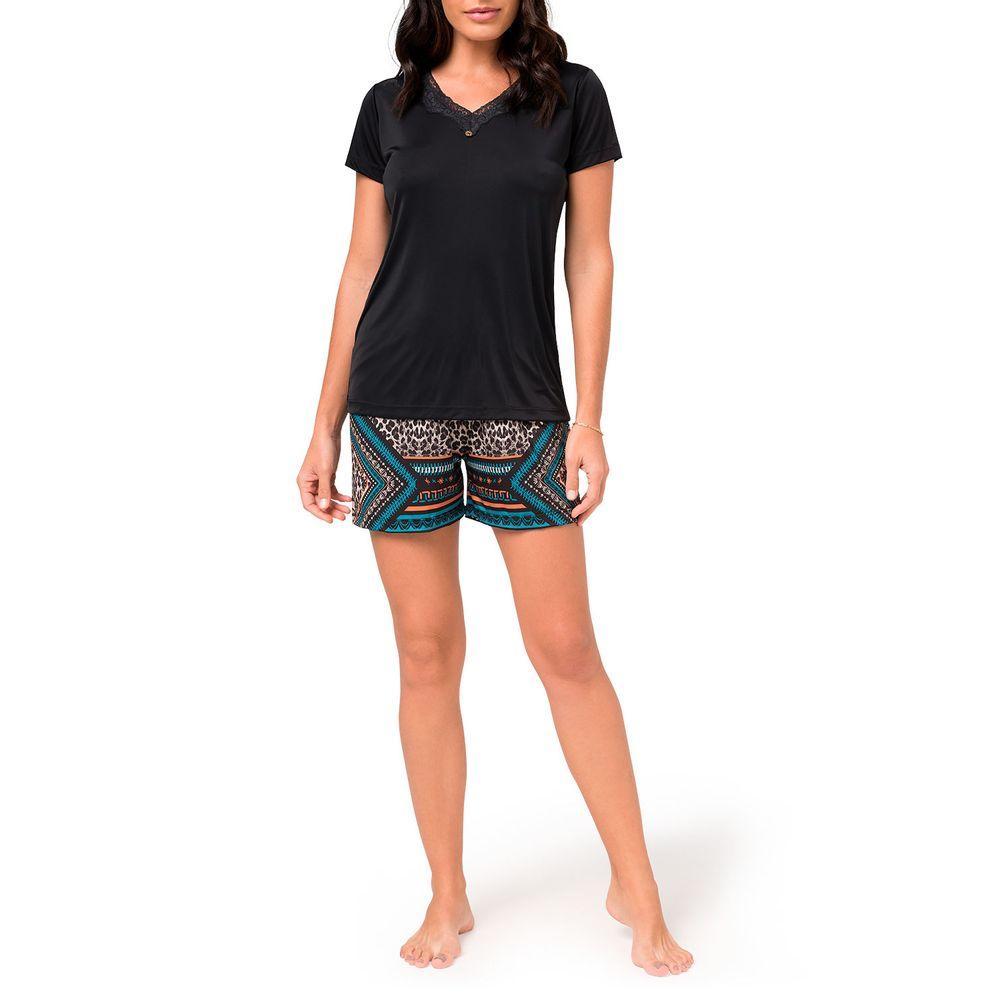 Pijama-Curto-Feminino-Toque-Microfibra-Animal-Print