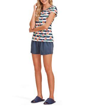 Pijama-Curto-Feminino-Lua-Encantada-Algodao-Frutas