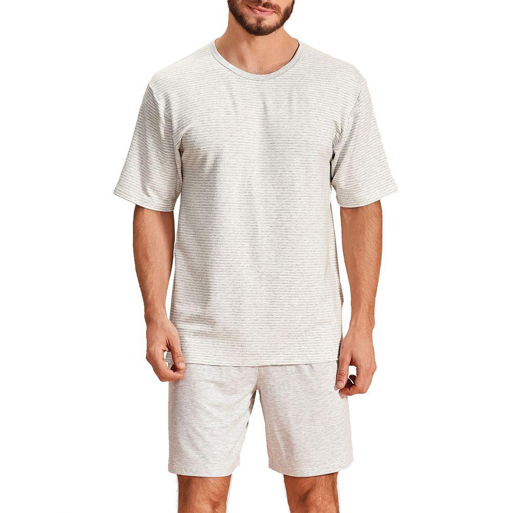 Pijama-Curto-Masculino-Lua-Encantada-Viscose-Listras