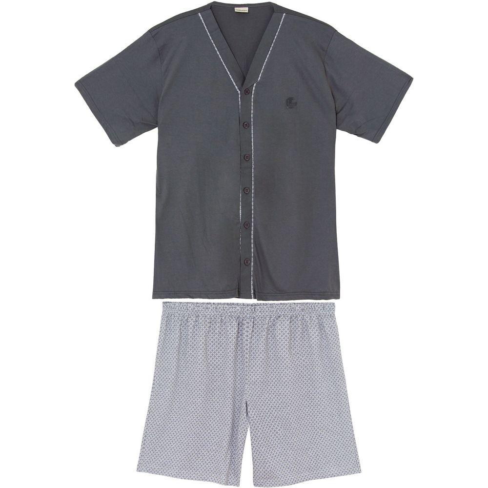 Pijama-Masculino-Curto-Aberto-Lua-Encantada-Algodao