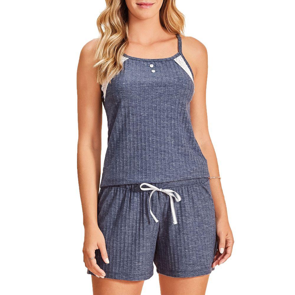 Pijama-Feminino-Curto-Lua-Encantada-Visco-Canelada
