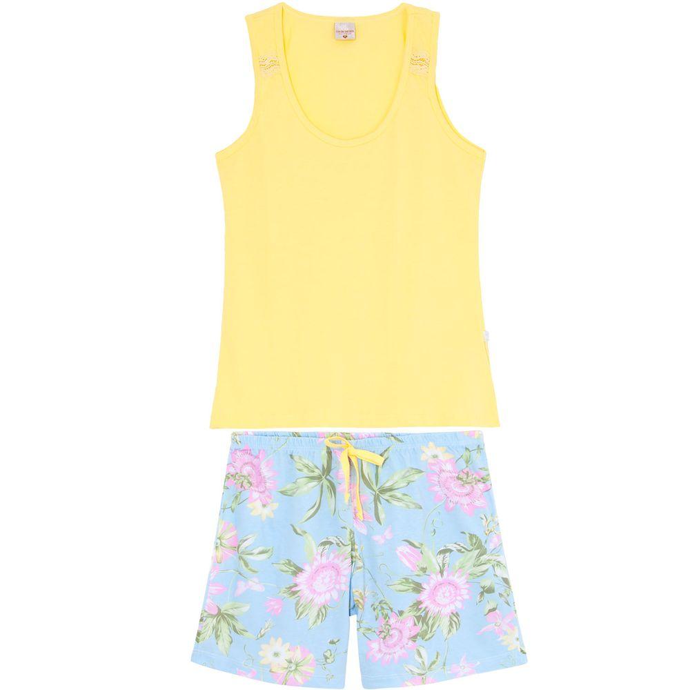 Bermudoll-Lua-Encantada-Regata-Algodao-Floral