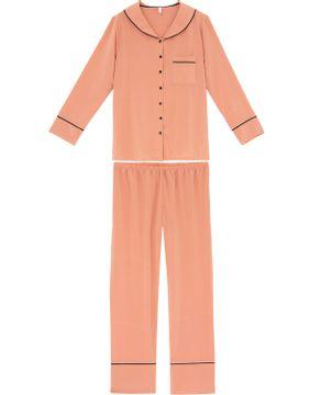 Pijama-Feminino-Longo-Aberto-Joge-Cetim