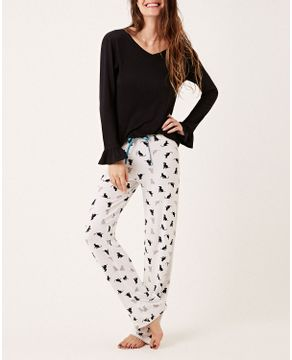 Pijama-Feminino-Longo-Joge-Viscolycra-Pets
