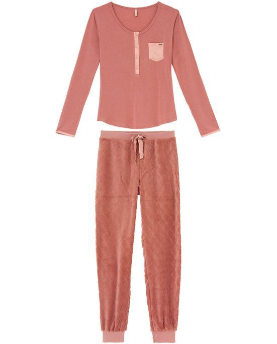 Pijama-Feminino-Calca-Fleece-Lua-Lua-Viscolycra-Bolso