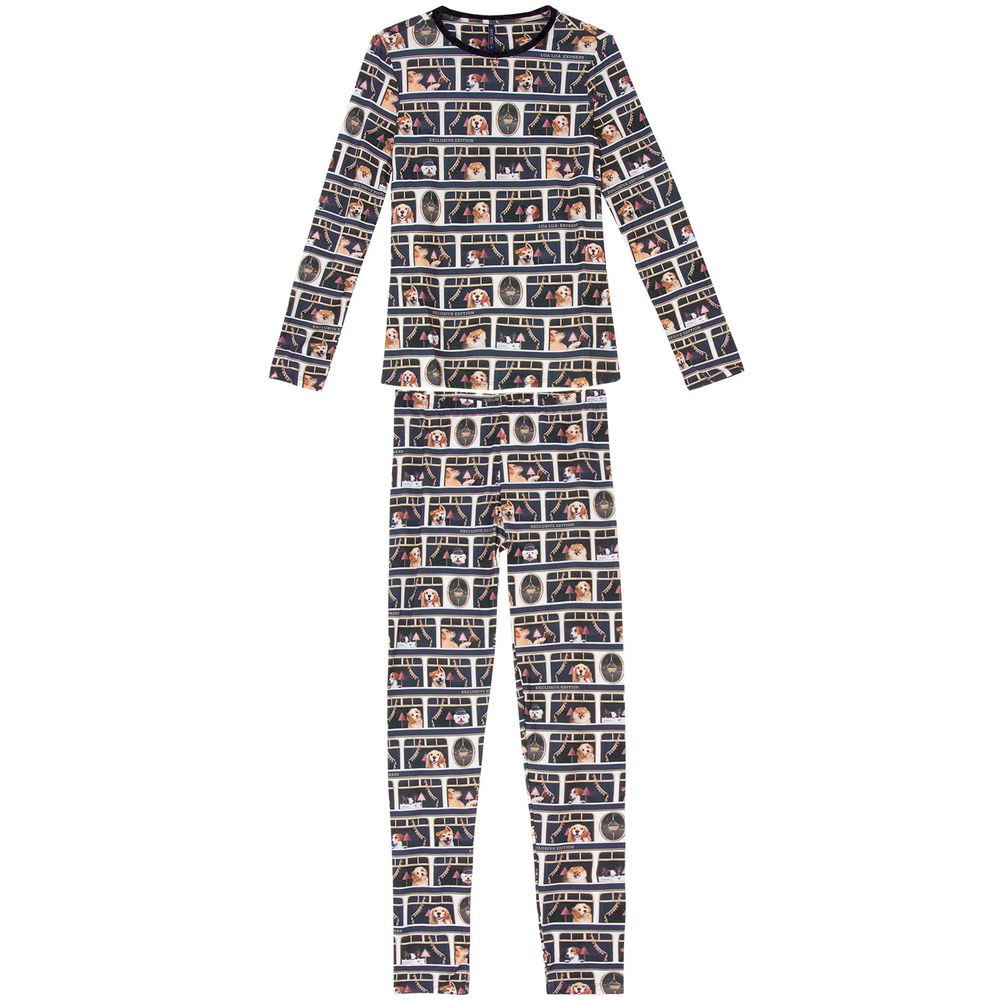 Pijama-Feminino-Longo-Lua-Lua-Sublime-Touch-Cachorros