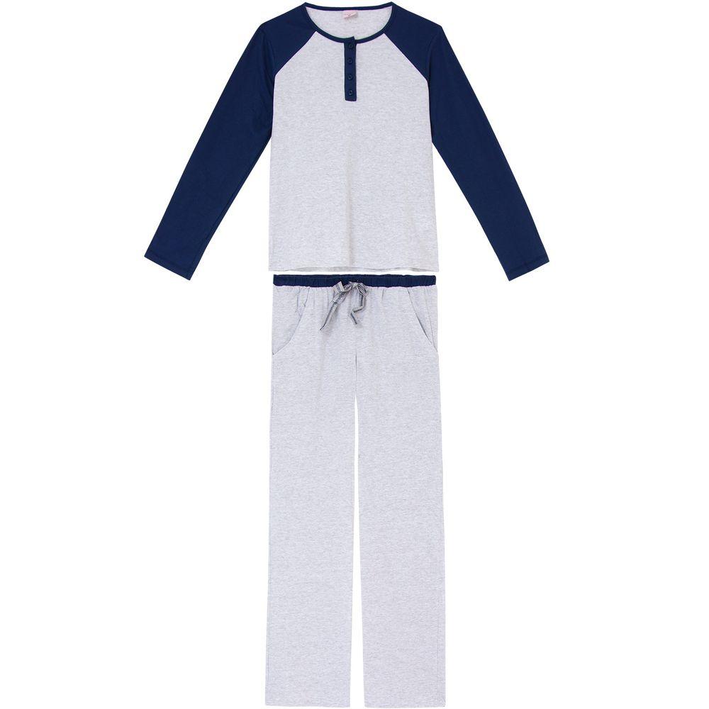 Pijama-Feminino-Lua-Encantada-Algodao-Semi-Aberto
