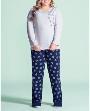 Pijama-Plus-Size-Feminino-Lua-Encantada-Calca-Coracao