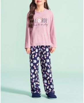 Pijama-Infantil-Feminino-Lua-Encantada-Algodao-Acordei