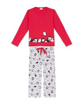 Pijama-Infantil-Feminino-Lua-Encantada-Algodao-Pinguim