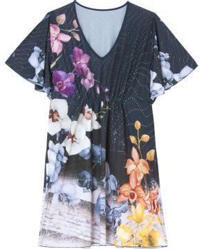 Kaftan-Plus-Size-Recco-Microfibra-Amni-Floral