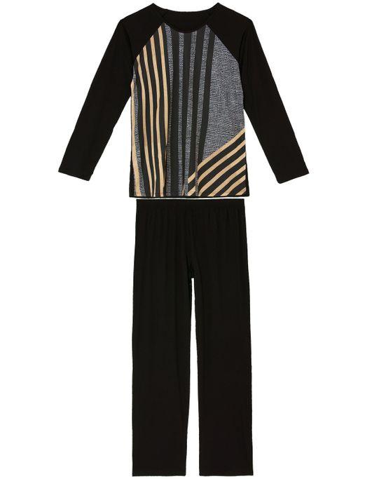 Pijama-Plus-Size-Feminino-Recco-Viscolycra-Listras