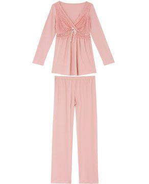 Pijama-Amamentacao-Recco-Longo-Viscolycra-Renda