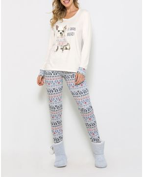 Pijama-Legging-Any-Any-Chihuahua-Visco-Premium