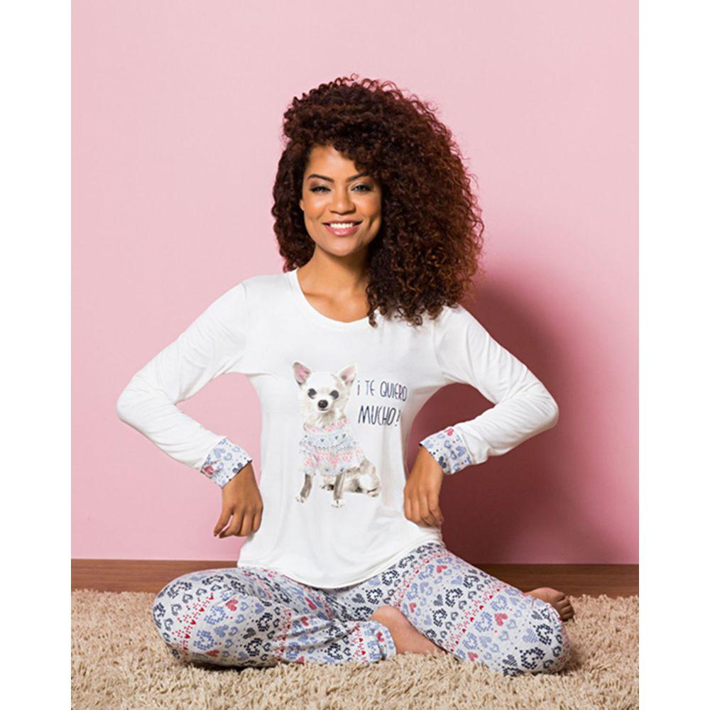 Pijama-Legging-Any-Any-Chihuahua-Visco-Premium