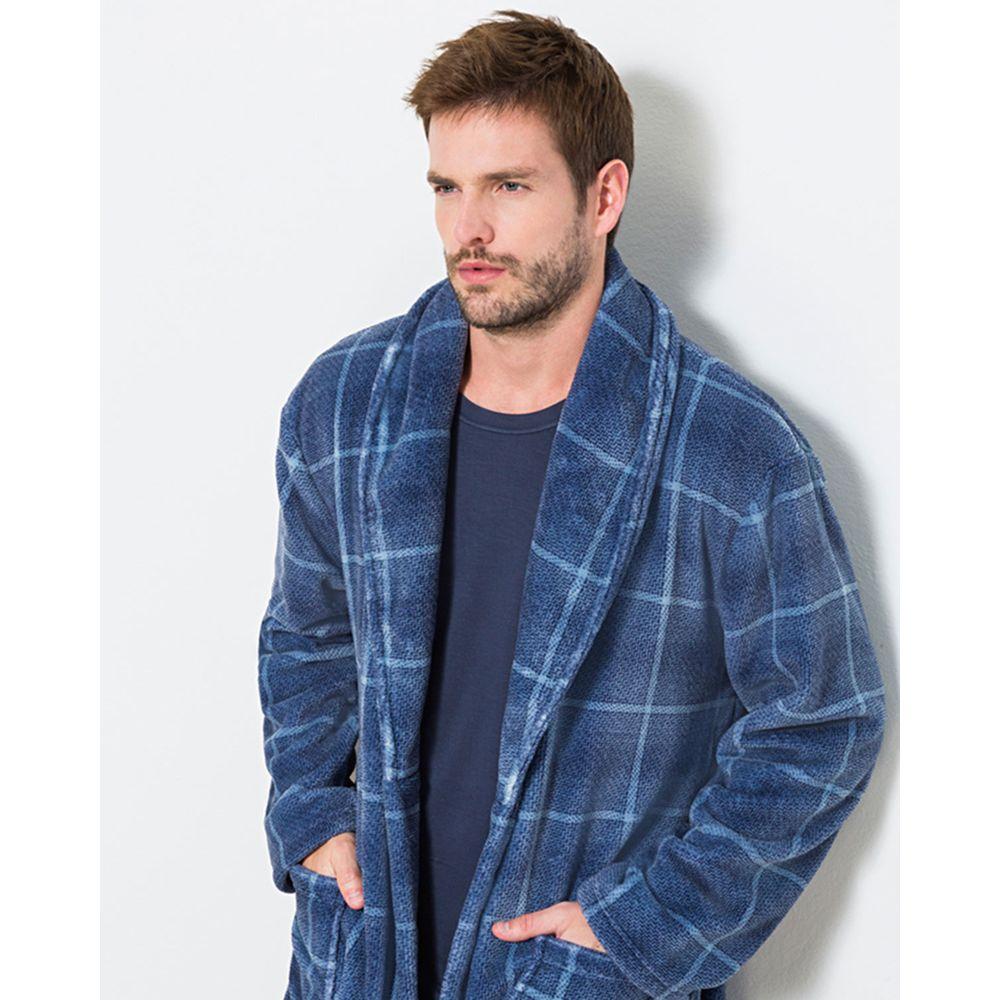 Robe-Masculino-Any-Any-Soft-Xadrez