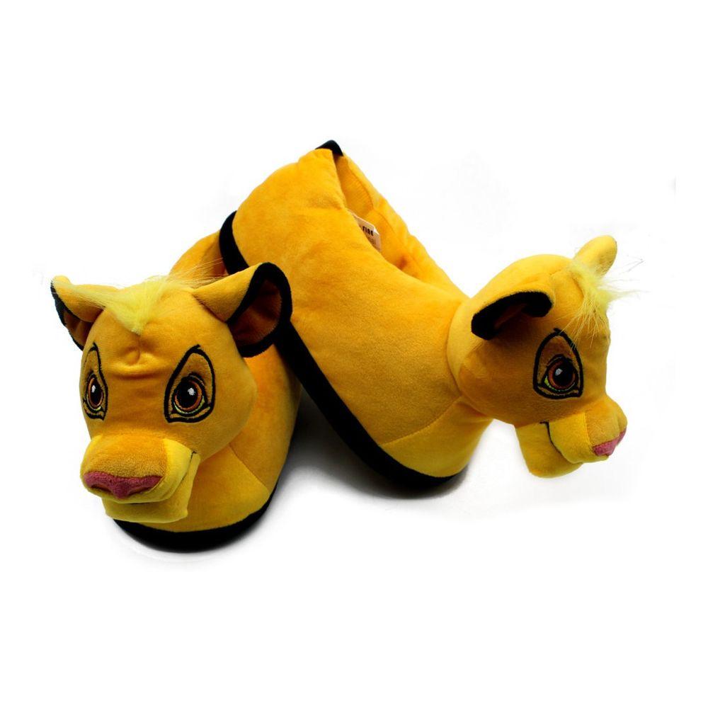 Pantufa-Simba-Rei-Leao-3D-Disney-Antiderrapante