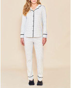 Pijama-Longo-Feminino-Aberto-Lua-Cheia-Algodao-Poa
