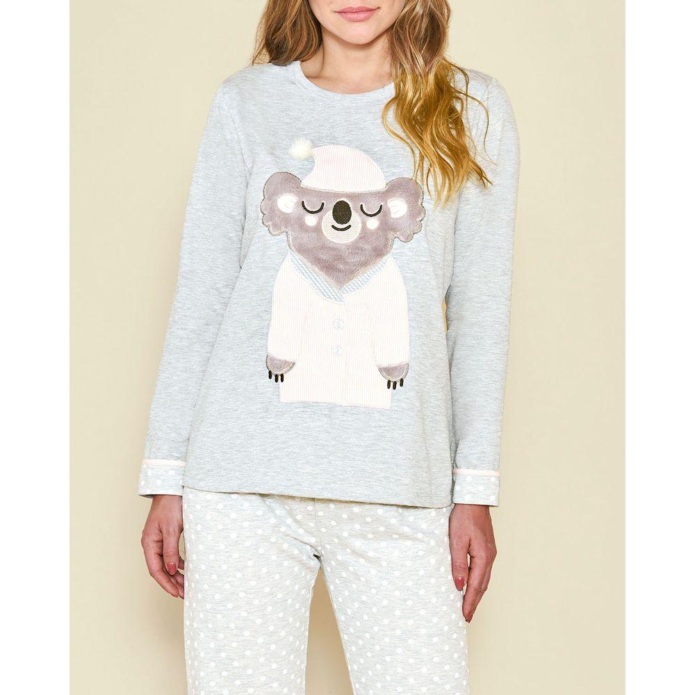 Pijama-Feminino-Moletinho-Flanelado-Lua-Cheia-Coala