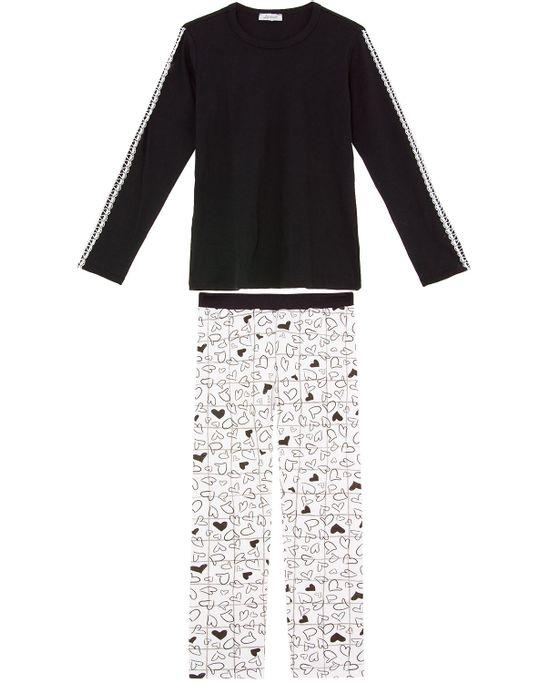 Pijama-Feminino-Lua-Cheia-Ribana-Calca-Coracoes
