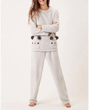 Pijama-Feminino-Longo-Joge-Soft-Bolsos-Coala