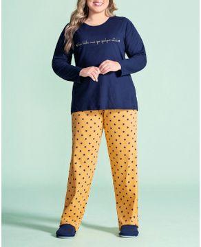 Pijama-Plus-Size-Feminino-Lua-Encantada-Estrelas