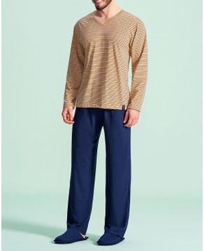 Pijama-Masculino-Longo-Lua-Encantada-Algodao-Listras