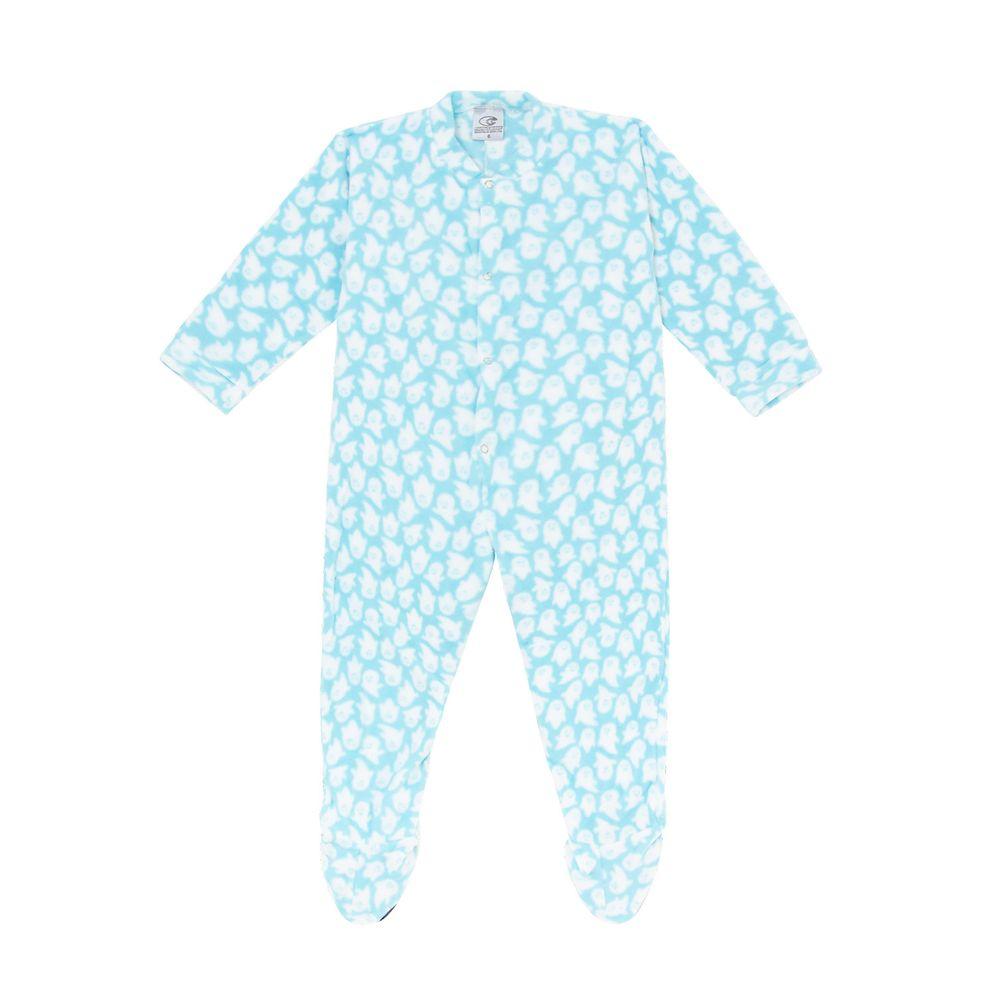 Macacao-Infantil-com-Pe-Papa-s-Wave-Soft-Fantasma
