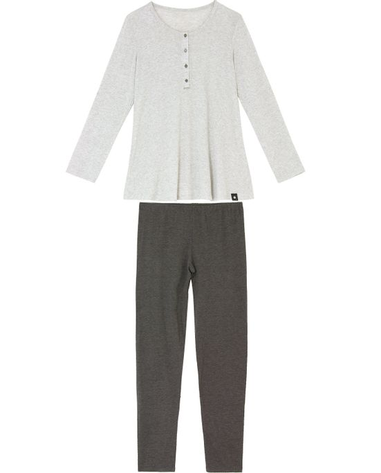 Pijama-Maternidade-Legging-Recco-Viscolight-Botoes