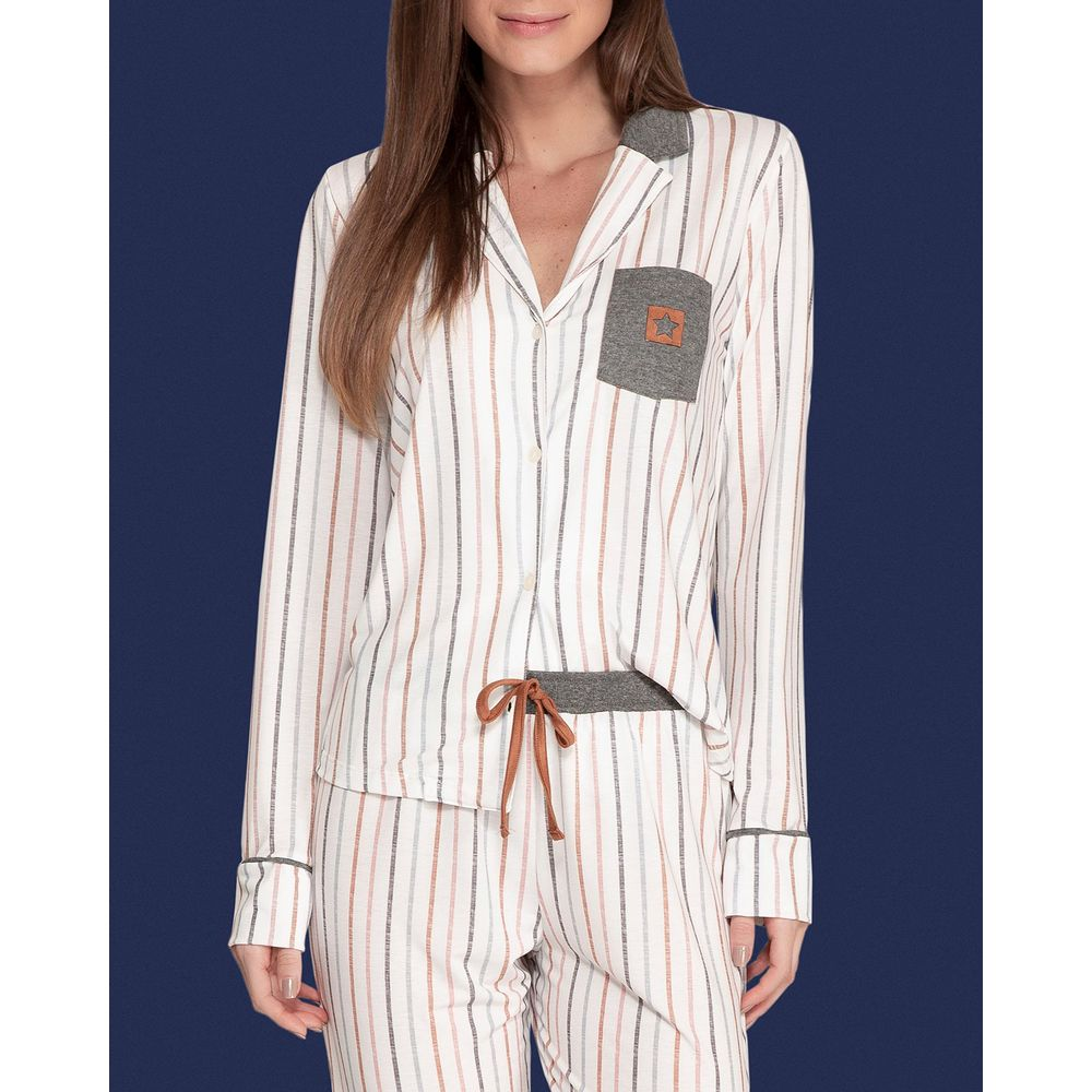 Pijama-Longo-Feminino-Aberto-Lua-Lua-Malha-Listras