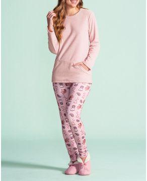Pijama-Legging-Lua-Encantada-Buckle-e-Belle-Floresta