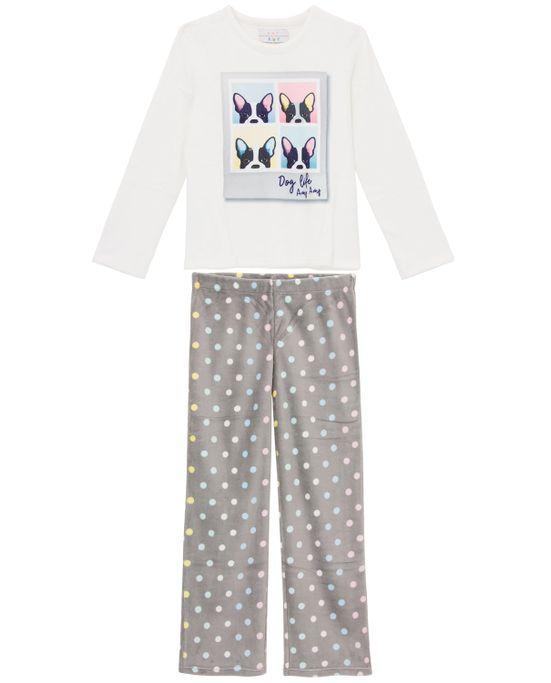 Pijama-Feminino-Any-Any-Soft-Bulldogs-Calca-Poa